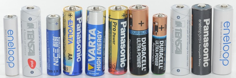 aa vs aaa batteries capacity
