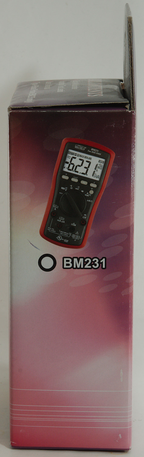 Test/review of DMM Brymen BM235 | BudgetLightForum com