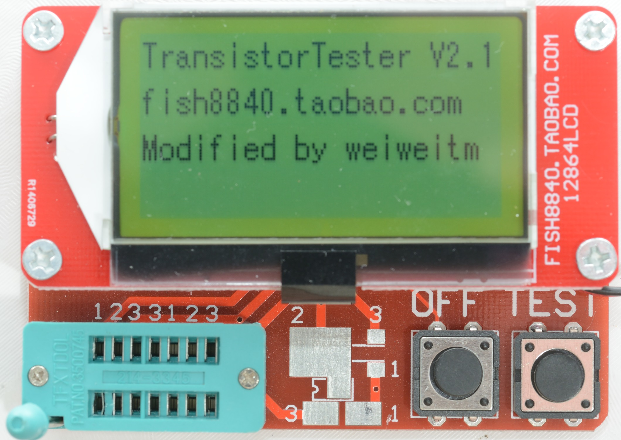Test Review Of Component Tester Fish8840 Transistor For Repair How Does It Look