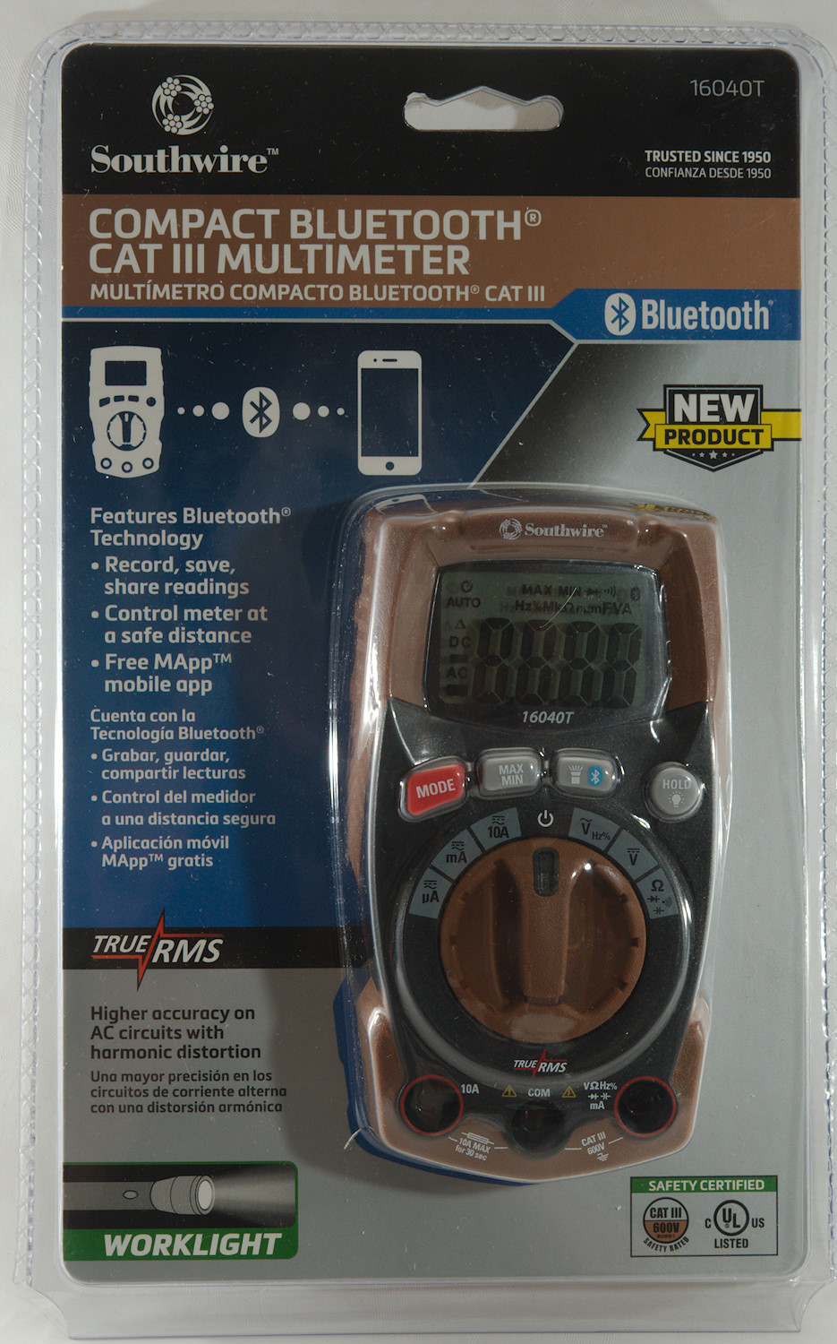 Test Review Of Dmm Southwire 16040t Car Fuse Box Multimeter The Meter Is Sold In A Clamshell With Comparison To Other Meters On Back