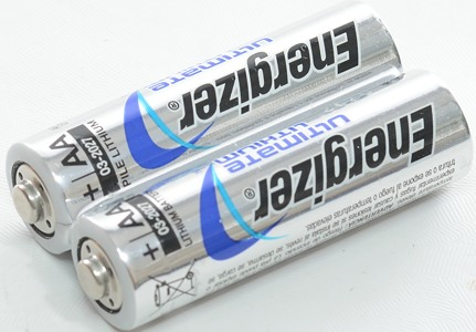Test of Energizer Ultimate Lithium AA