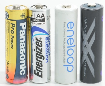 Rechargeable Alkaline Batteries >> Comparison Of Aa Battery Chemistry