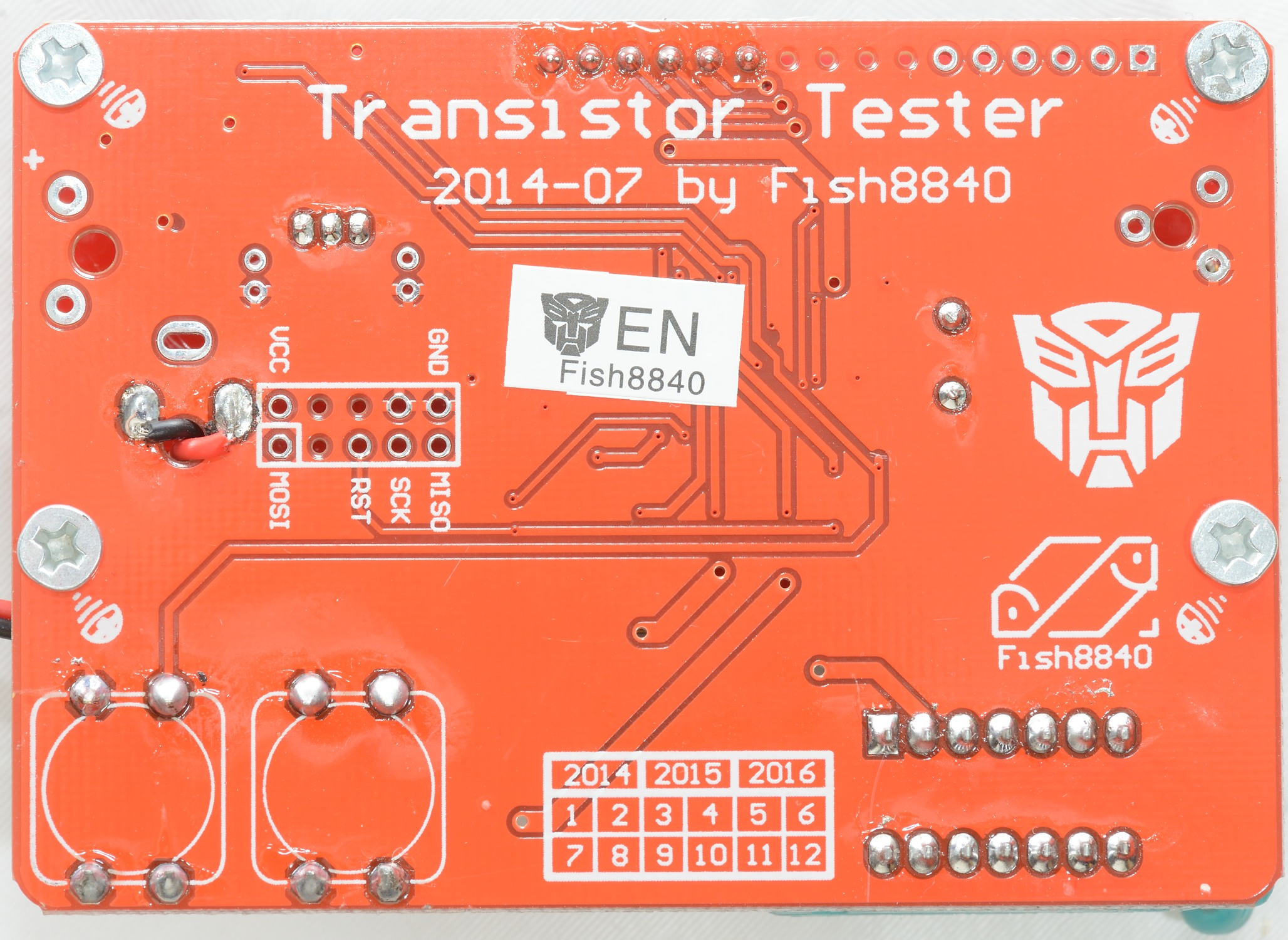 Good Bad Transistor Tester Test Review Of Component Fish8840 The Circuit Is Very Simple Microprocessor Do Everything It Has 3 Pins Connected To Each Terminal One Directly For Adc Two Other