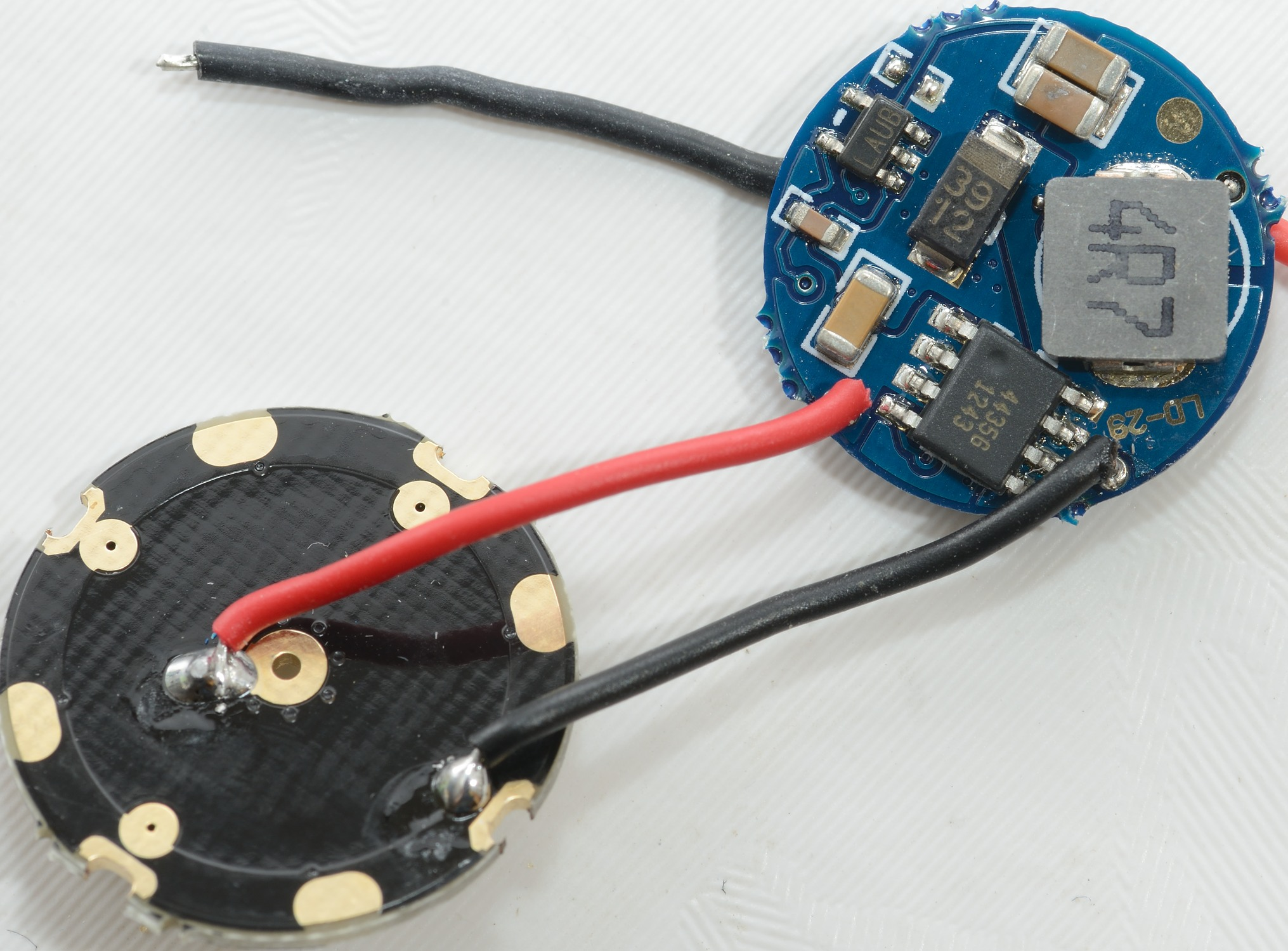 Test Of 1 2 Lithium Group 3 5 Mode 28a Led Ld 29 Efficient Driver Works With Single Aa Cell Is From Fasttechcom
