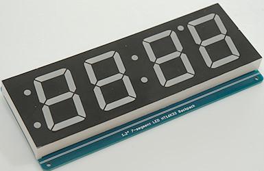 Tm1638 Arduino Clock