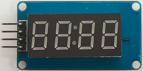 Display driver for LCD displays on Arduino
