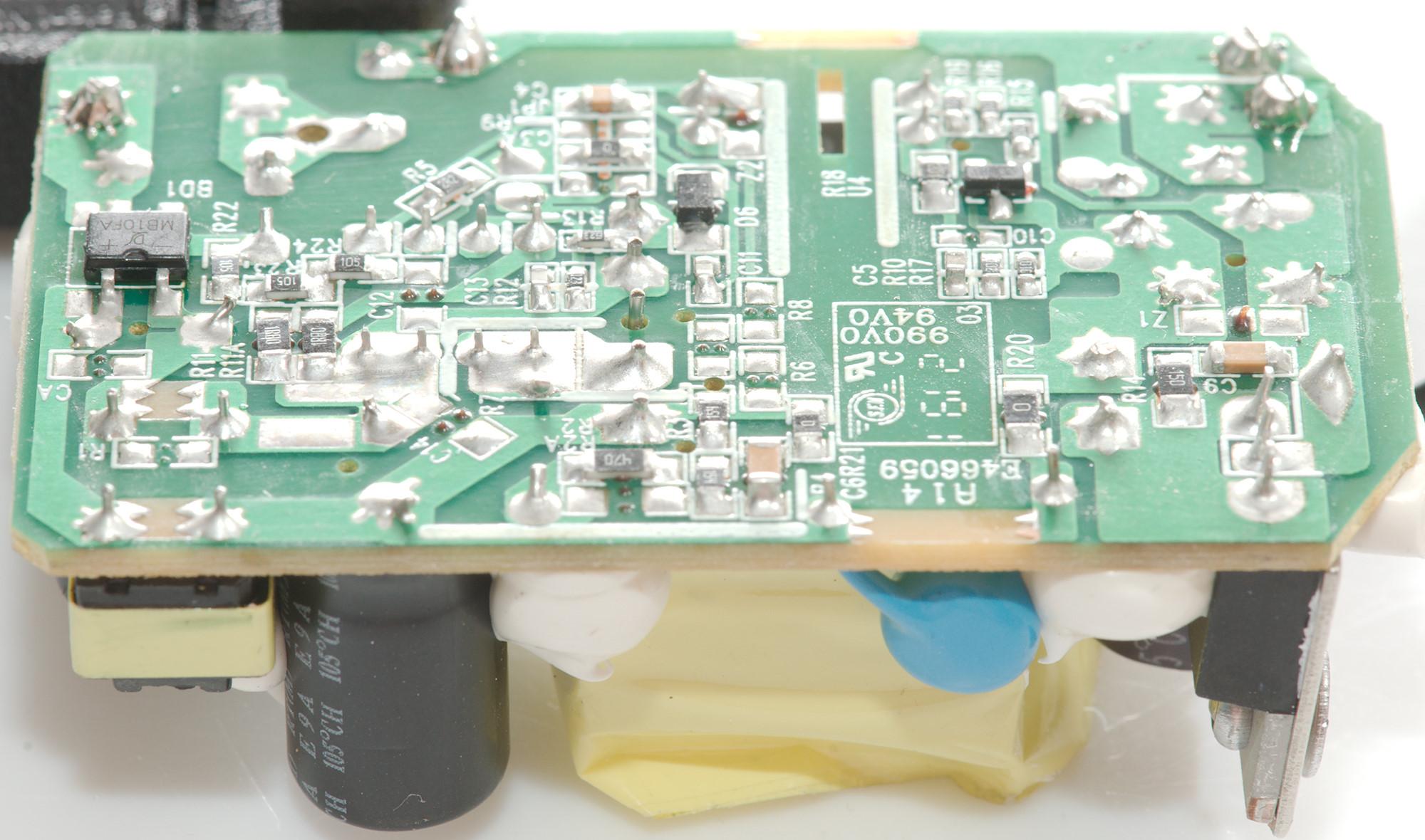 Test of Rasberry Pi 2 5A (Stontronics DSA-13PFC-05)